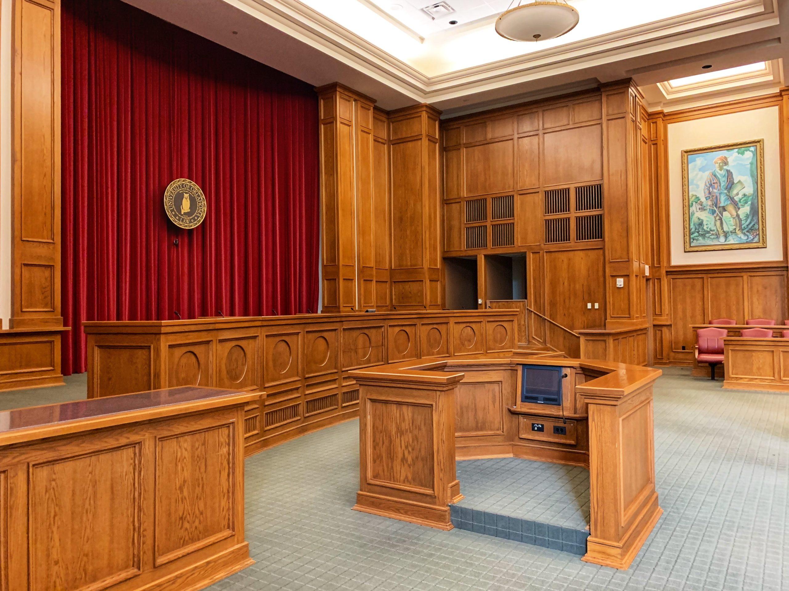 court room